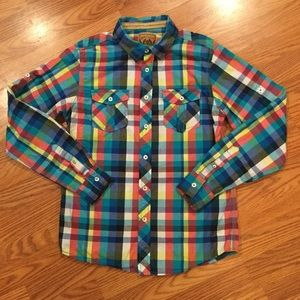 Red Camel Button Down Shirt